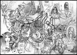 graffiti art graphics sketches graffiti grey 2007