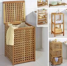 korb badezimmer badezimmer holzmöbel rustikales design für badezimmer traumhaus