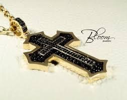 real gold cross necklace images Unique men 39 s gold cross necklace 14k solid gold cross jpg