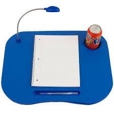 amazon com laptop lap desk portable tray with foam cushion