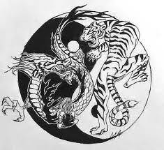 tiger dragon yin yang meaning