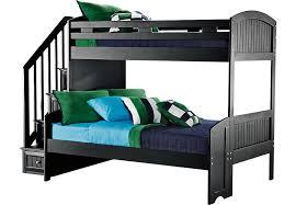 Bunk Beds Black Cottage Colors Black Step Bunk Bed Beds Black