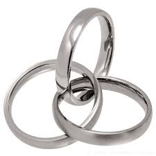 russian wedding rings 3 band russian wedding ring made of titanium