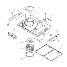 broan qp130bl parts list and diagram ereplacementparts com