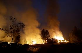 California Wildfire Ranking by California Wildfire Deaths Reach 40 Police Have 300 Missing