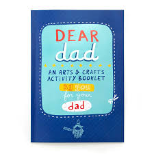 dear dad arts and crafts book writing activities for kids