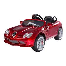 cars mercedes red aosom kids mercedes benz cls electric ride on car red