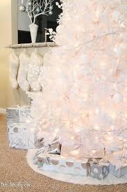 white christmas trees white christmas tree