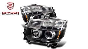 nissan titan fog lights spyder nissan titan 04 14 nissan armada 04 07 projector