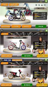 racing bike apk drag racing bike edition mod indonesia unlimited money motor