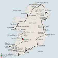 Map Of Dublin Ireland Map Scenic Ireland 2017