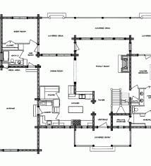 main floor log cottage floor plan 24 u0027x32 u0027 open floor plans log