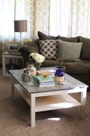 diy farmhouse coffee table ikea great idea and very inexpensive if using lack tables diy farmhouse