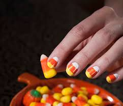 picture 6 of 10 easy thanksgiving nail art designs photo