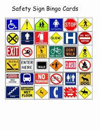 empowered by them safety sign bingo