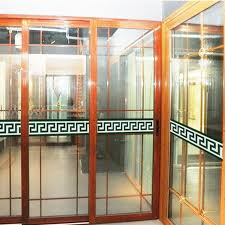 stickers for glass doors removable diy pvc decals windows glass door kitchen house wall