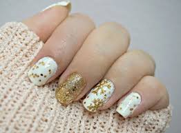 sarah christmas nails tutorial