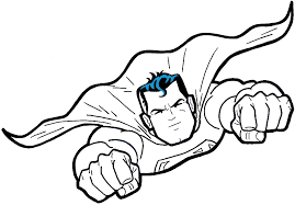 how to draw superman from dc comics in easy step by step drawing