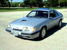 1985 mustang svo 1985 ford mustang svo for sale