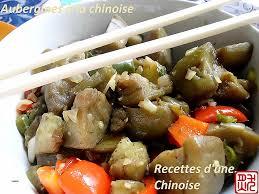 cuisine d une chinoise cuisine comment cuisiner l aubergine unique recettes d une chinoise