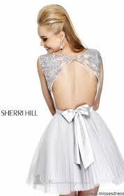 dress bow prom prom dress short prom dress grey sequin dress