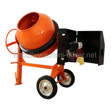 300l 6hp manual gasoline mixer concrete cement mixer with gs rohs