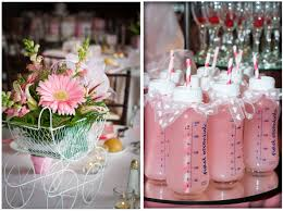 simple baby shower surprising simple girl baby shower ideas 15 on interior decor