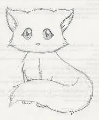 coloring mesmerizing cute kitty drawings drawn cat 3