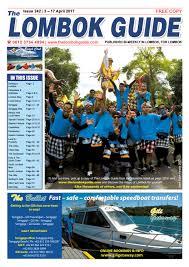 the lombok guide issue 242 by the lombok guide issuu