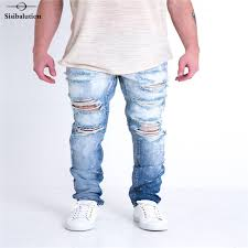 Light Wash Ripped Skinny Jeans Online Get Cheap Light Wash Skinny Jeans For Men Aliexpress Com