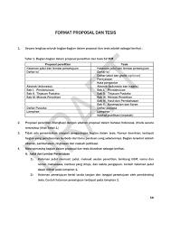 format abstrak tesis proposal skripsi dan tesis