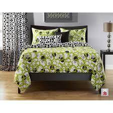 Bedroom Set Qvc Comforter Pc Green Queen Comforter Quilted Geometric Medallion