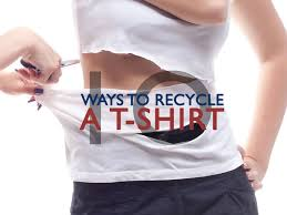 Upcycle Old Tshirts - recycled t shirt diy ecouterre