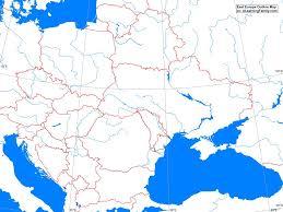 eastern europe blank map printable blank map of eastern europe