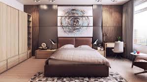 couleur chaude chambre mobilier et déco en couleurs chaudes et froides dans deux appartements