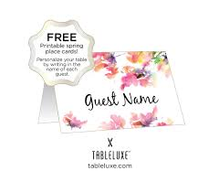 printable name place cards tableluxe printable place cards