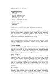 format abstrak tesis panduan penulisan tesis dan disertasi