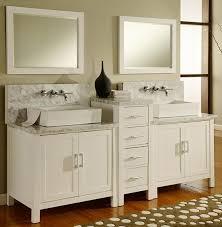 White Modern Bathroom Vanities Artesia Double 84 Inch Modern Bathroom Vanity Pearl White