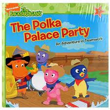 cartoon character products backyardigans polka palace