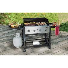 50 000 btu 4 burner tailgate gas grill walmart com