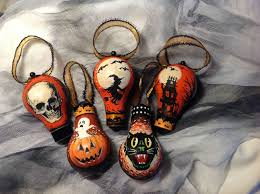 vintage halloween hand painted ornaments album on imgur