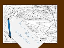 How To Read A Topographic Map 3 Ways To Measure A Straight Line Distance Using A Topo Map