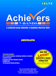 amazon in buy ielts achievers 7 bands 4 in one combo pack with