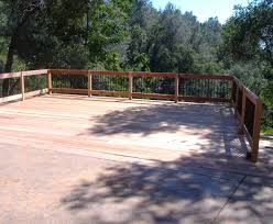 How To Build A Handrail On A Deck Building A 24 U0027 X 20 U0027 Deck On Steep Slope 5 Steps With Pictures