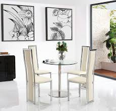 Target Dining Chairs by Target Dining Set With 2 Ivory Chairs Modern Furniture Direct