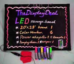 amazon thedisplaydeal flashing illuminated led message