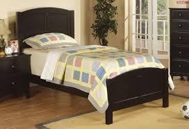 Black Wood Furniture Bedroom Black Wood Twin Size Bed Steal A Sofa Furniture Outlet Los
