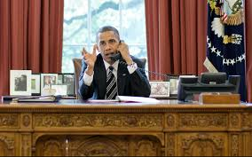 obama at desk electrospaces net the presidential communications equipment under
