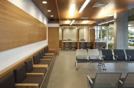 Waiting Area Interior Design Ucla Health Santa Monica Medical Office Building Mob 1223 16th