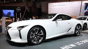 lexus luxury 2017 lexus lc500h hybrid luxury sports car on display during the 2017